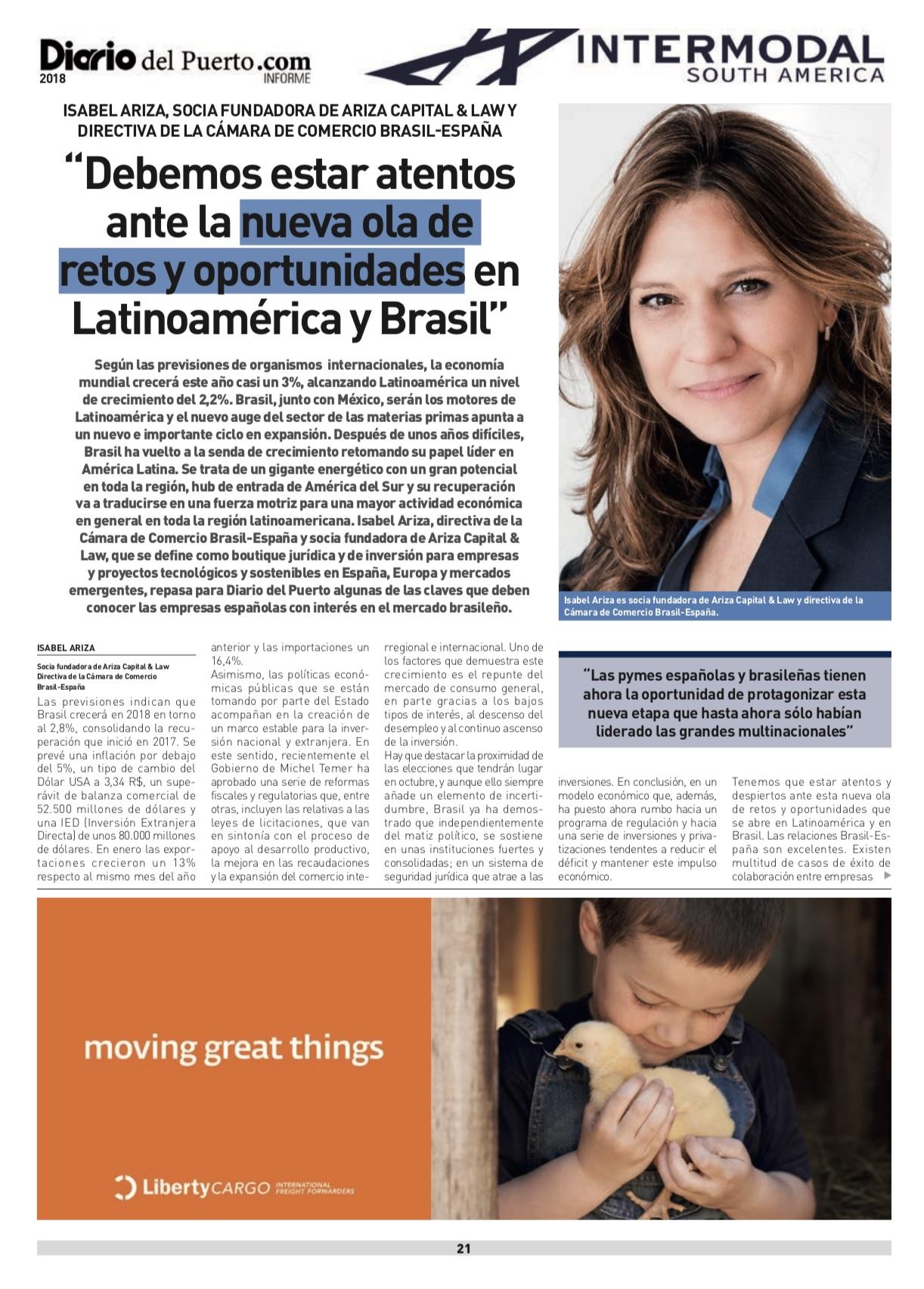 Publicación en Diario del Puerto